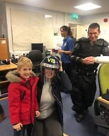 Almost 1,000 people came out for Ely Police Station's open day on Sunday, October 6. Picture: Twitte
