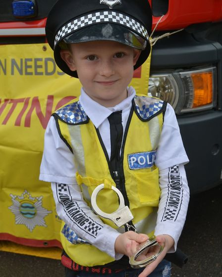Almost 1,000 people came out for Ely Police Station's open day on Sunday, October 6. Picture: Mike R