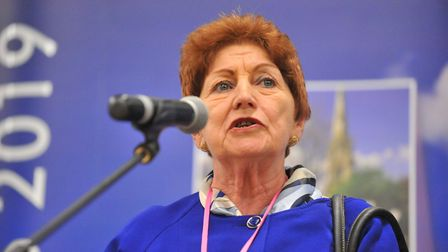 Cllr Jan French, who has delivered her annual community champion report.. Picture: HARRY RUTTER