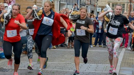 The Ely Potato Race, which raises money for local charities each year, returns to the city this Satu