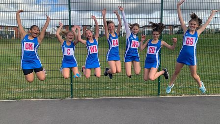 Dunmow Squires jump for joy