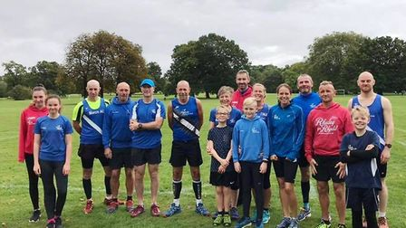 March AC members at the Frostbite League event in St Neots