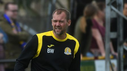 March Town manager Brett Whaley. Picture: IAN CARTER