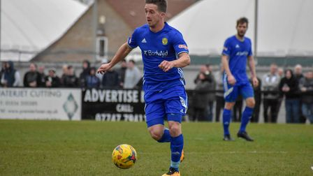 Loan signing Johnny Herd made his Ely City debut in their defeat to Wroxham after arriving from high