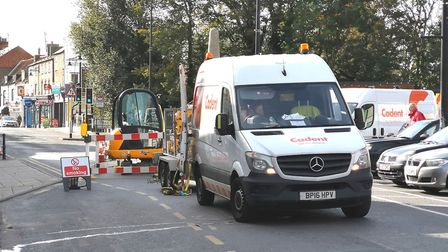 Nothing to see here! Gas company Cadent has said the emergency repairs in March are nothing to worry