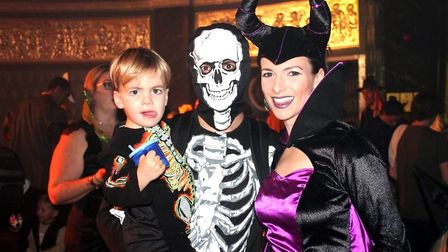 Halloween-themed family fun for the post-rave generation of parents is what you can expect when Big