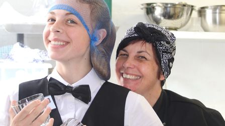 Staff at the opening of The Tea Leaf on September 30. Picture: CONTRIBUTED