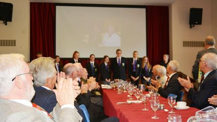 It was a chance to fondly remember school days of years gone by as staff and pupils of Soham Grammar