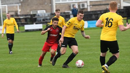 March Town could not deliver another cup upset as they bowed out of this season's FA Vase following