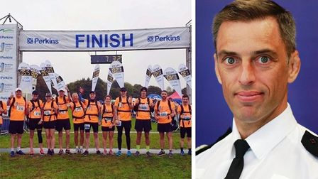 Assistant Chief Constable, Dan Vajzovic was among the thousands of runners ready to take part in Gre