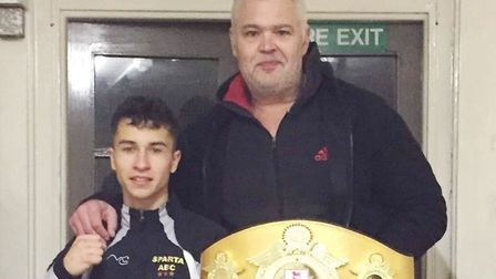 A fundraising page has been launched to get up to £10,000 for young champion boxer Eryk Ciureja tto