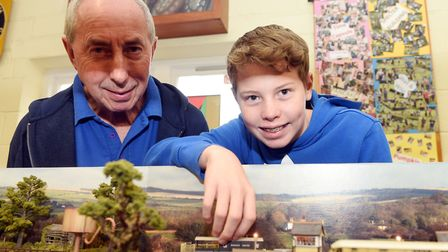 Revellers joined members of the March & District Model Railway Club at The Scout Hall on Saturday (O