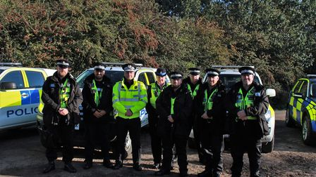 Cambridgeshire Police Chief Constable Nick Dean spent a day on the frontline and joined the fight ag