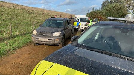 The pursuit in Little Downham. Cambridgeshire Police Chief Constable Nick Dean spent a day on the fr