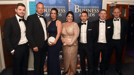 Guests arriving at the 2019 Fenland Enterprise Business Awards. The event was held at March Braza Cl
