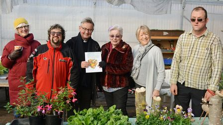 Ely charity Earth bring in the harvest thanks to fundraising supper. Picture: MIKE ROUSE