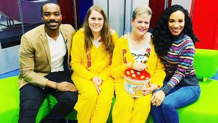Ely mother and daughter star on BBC's The One Show to raise money for Children in Need. Sue and Lara