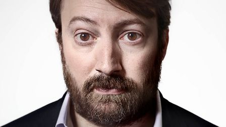 Comedian, actor, writer and television presenter David Mitchell is coming to Ely Cathedral on Tuesda