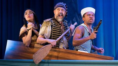 Don't miss hilariously funny Peter Pan Goes Wrong when it flies onto the Cambridge Arts Theatre stag