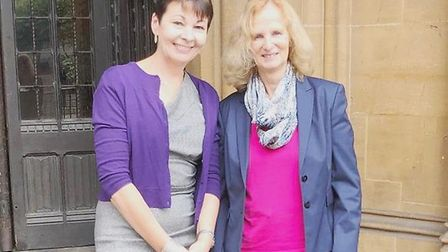 General Election 2019: South East Cambs Green Party candidate Barbara Light (right) steps down. Lib