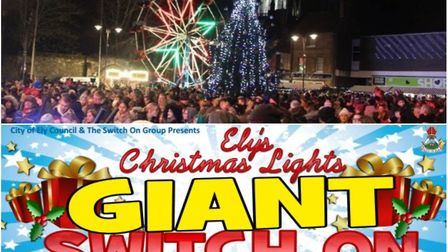 A festive selection of entertainment will be on offer at this year's Ely Christmas lights switch on.