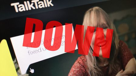 Residents in March and Doddington have been without internet for three days as the TalkTalk network