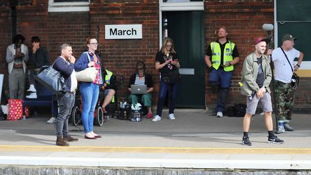 An advert filmed at March Railway Station starring TV legend Simon Bird has been released online. Pi