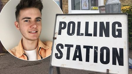 Harry Rutter (pictured) is covering his first general election in the Fens. Here he begins his journ