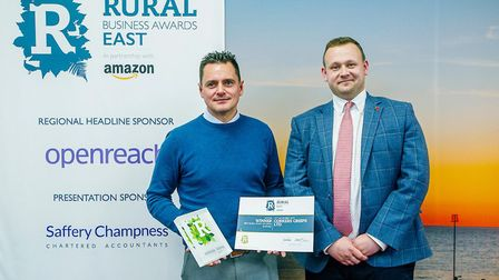 Corkers Crisps win top Amazon backed rural business awards The East Rural Business Awards final is r