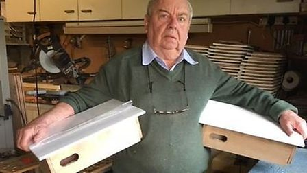 Ely man John Stimpson is just 174 swift boxes away from having made a total of 20,000 that he will r