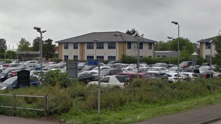 Parking machines at Angel Drove car park in Ely have been stolen. Picture: GOOGLE IMAGES