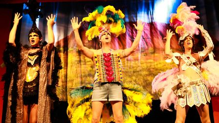 The Dunmow Players performed Priscilla Queen of the Desert in 2017.
