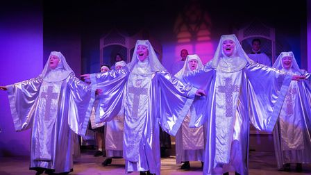 Dunmow Players performed Sister Act in 2016.