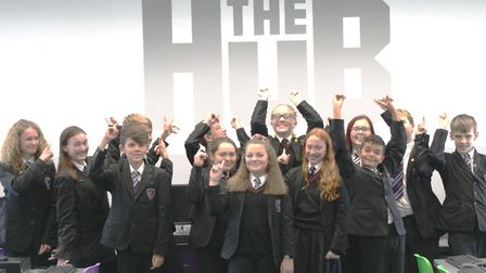 Witchford Village College unveiled The Hub this week, a new IT facility, as they look to increase th