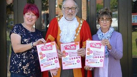 Friends Elizabeth Robertson and Margaret Dooling have organised The Really Big Bash for Charity fund
