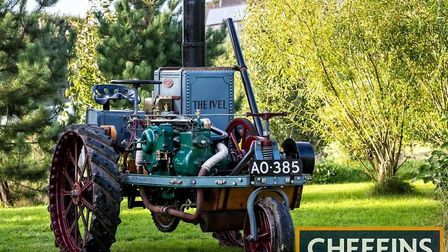 The UK auction record for a vintage or classic tractor was smashed when the 1903 Ivel Agricultural M