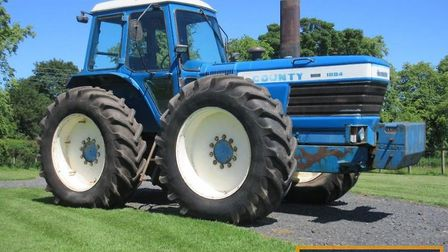 The previous record price for a classic or vintage tractor of £94,500 was beaten twice on the day at