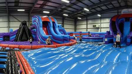 Popular with celebs, this huge inflatable theme park is moving into the One Retail Park in Peterboro