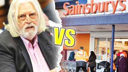 Businessman Bruce Smiths Fenland based company is taking on Sainsburys in a 5m High Court battle in