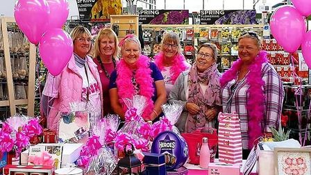 Fundraiser Debbie Hitchings (pictured) has raised more than £3,000 for the Breast Cancer Now charity