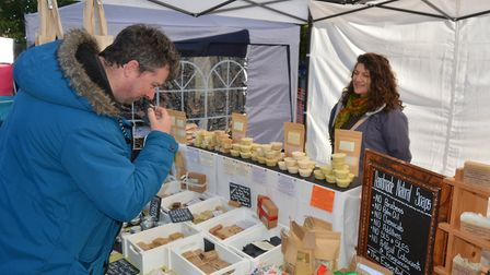 Hundreds of people attended Ely Apple Day 2019 as it returned to the city on Satuday (October 19). P