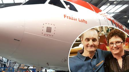 A new multi-million pound easyJet plane has been named after a much-loved Soham man Frazer Lofts a