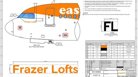 A new multi-million pound easyJet plane has been named after a much-loved Soham man – Frazer Lofts –
