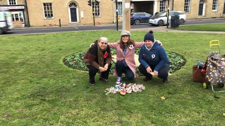 Remembrance rocks: Keeping it local this year, Angii Smith of Ely Rock Eeels decided to paint all th