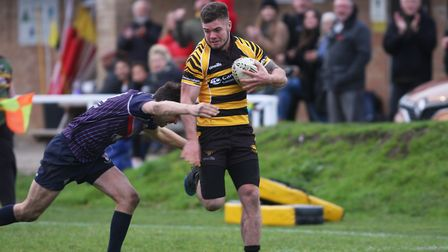 Confusion reigns at the final whistle as Ely Tigers faced Thurston at the Cambridge Commodities Park