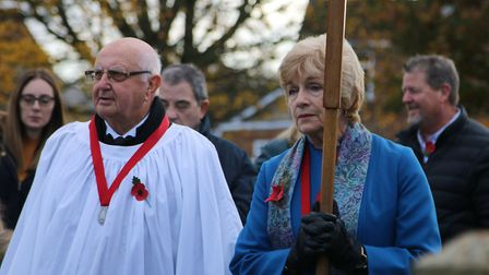 Coates remembers 2019! Hundreds turned out for the annual parade and silence on Sunday, November 10.