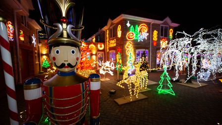 A couple from the Fens have called time on their annual Christmas lights display. Robert and Amanda