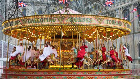 Ely Cathedral Christmas Gift and Food Fair draws in visitors from across the country. Picture: KEITH