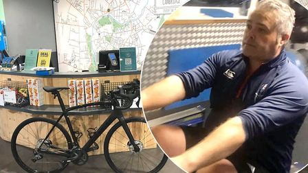 Joe Hemsley-Rudd (pictured) will cycle from London to Paris in just four days in aid of Great Ormond