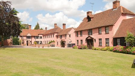The owner of Little Easton Manor, Andy Mahoney, has applied to convert the courtyard buildings into